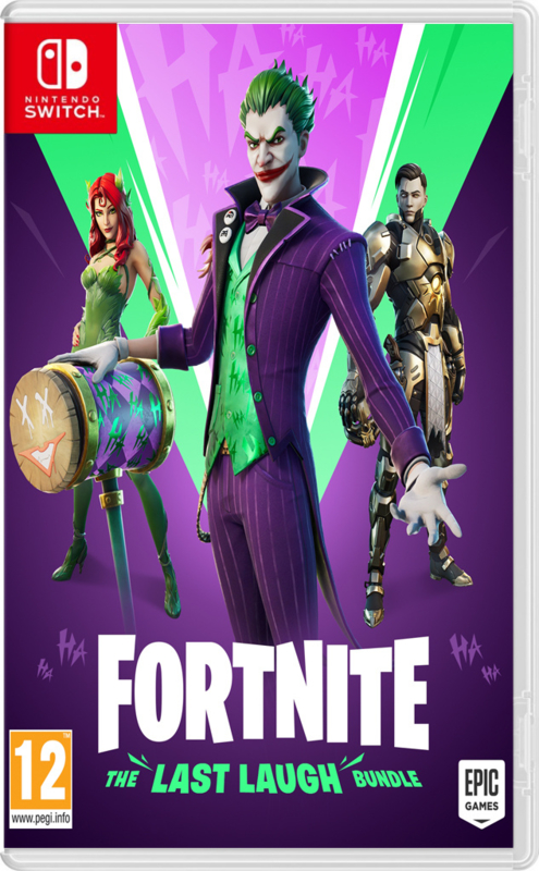 Switch Fortnite The Last Laugh (Code In A Box) [Nieuw]