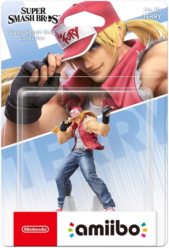 Amiibo Terry Bogard - Super Smash Bros [Nieuw]