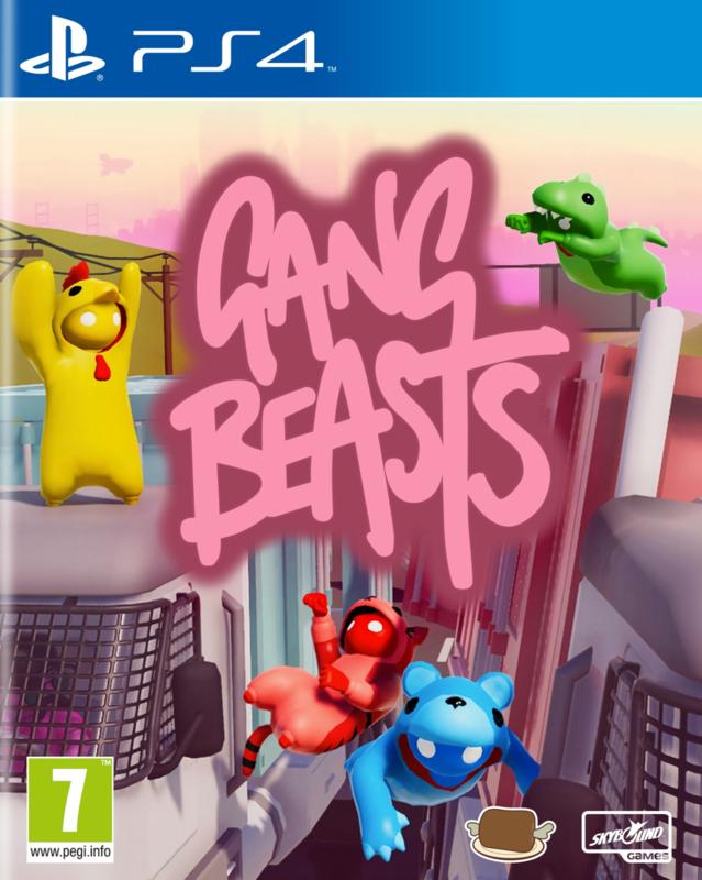 Ps4 Gang Beasts [Nieuw]