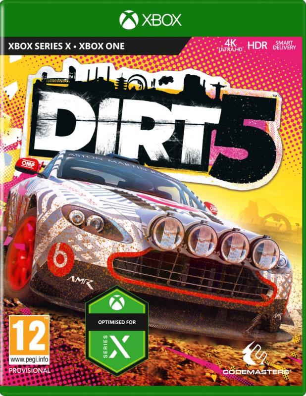 Xbox Dirt 5 (Xbox One/Xbox Series X) [Nieuw]