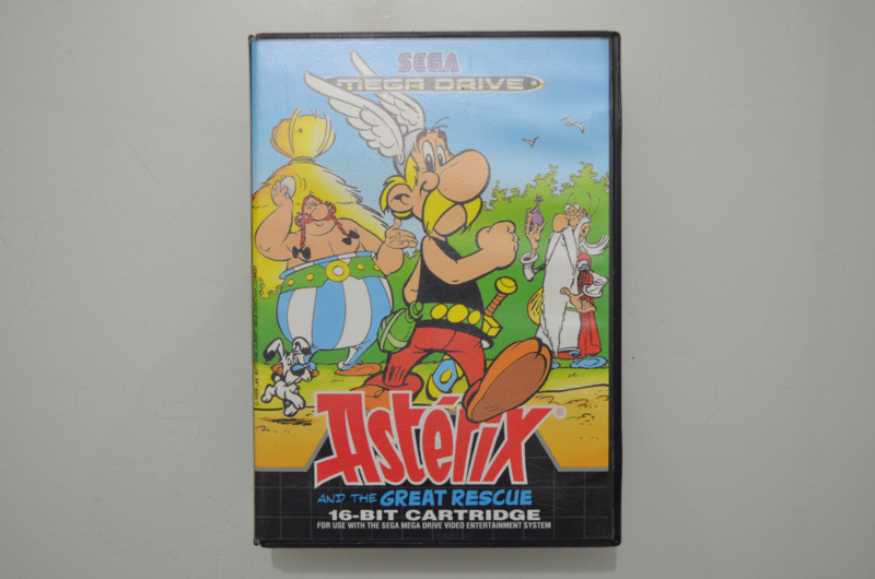 Mega Drive Asterix and the Great Rescue [Compleet]