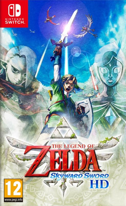 Switch The Legend of Zelda Skyward Sword HD [Nieuw]