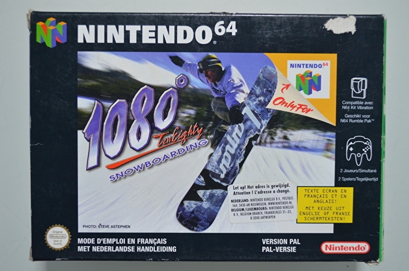 N64 1080 Snowboarding [Compleet]