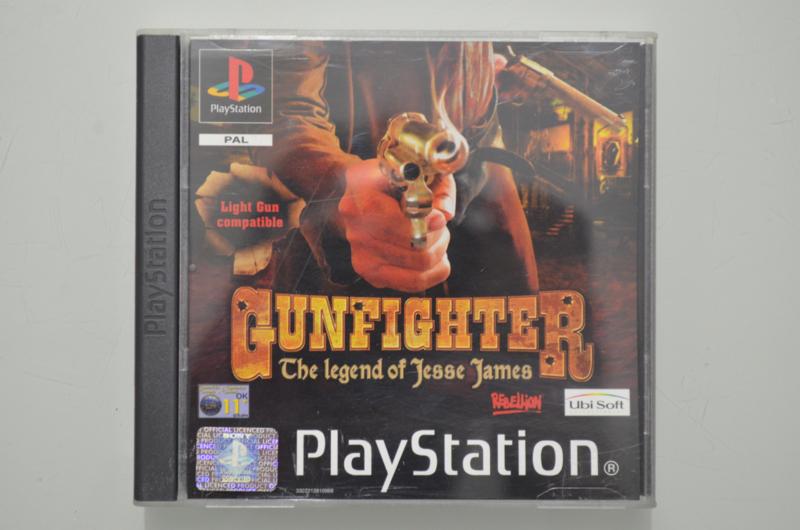 Ps1 Gunfighter The Legend of Jesse James