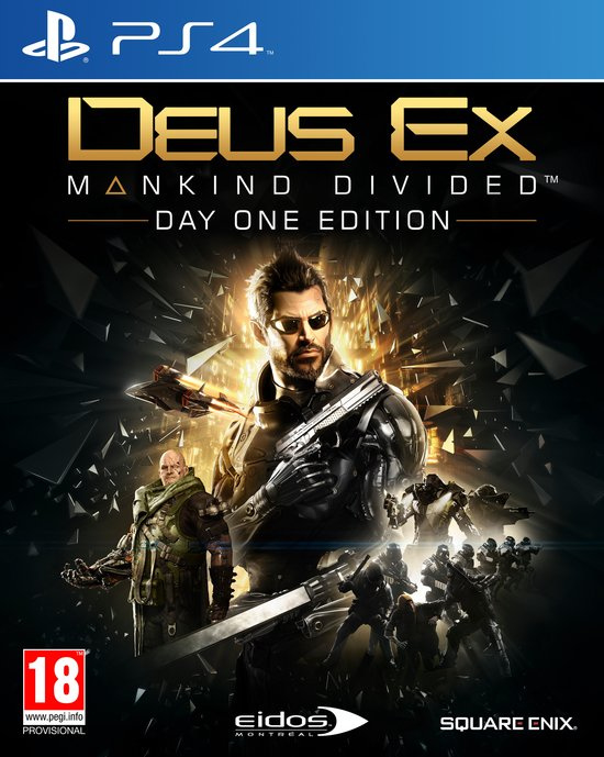Ps4 Deus EX Mankind Divided Day One Edition [Nieuw]