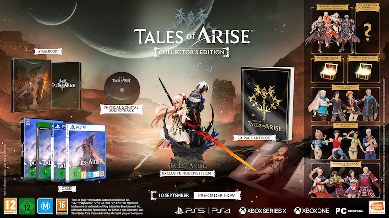 Ps4 Tales of Arise Collector's Edition [Nieuw]