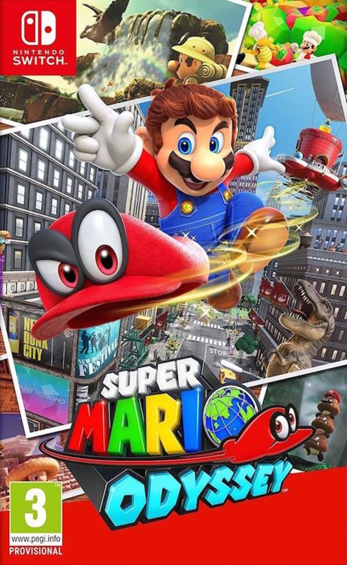 Switch Super Mario Odyssey [Nieuw]