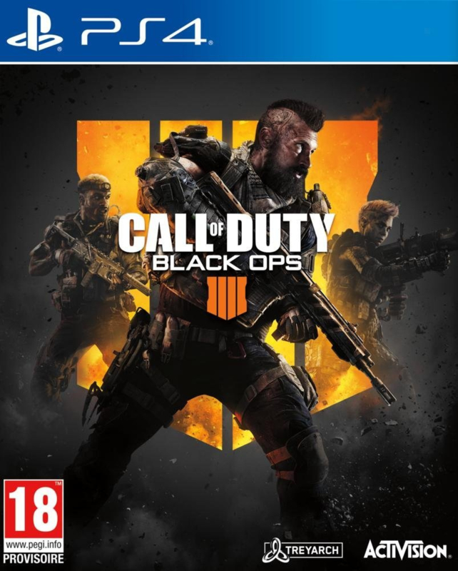 Ps4 Call of Duty Black Ops 4 [Nieuw]