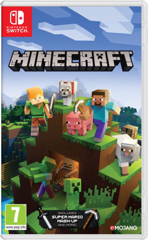 Switch Minecraft [Nieuw]