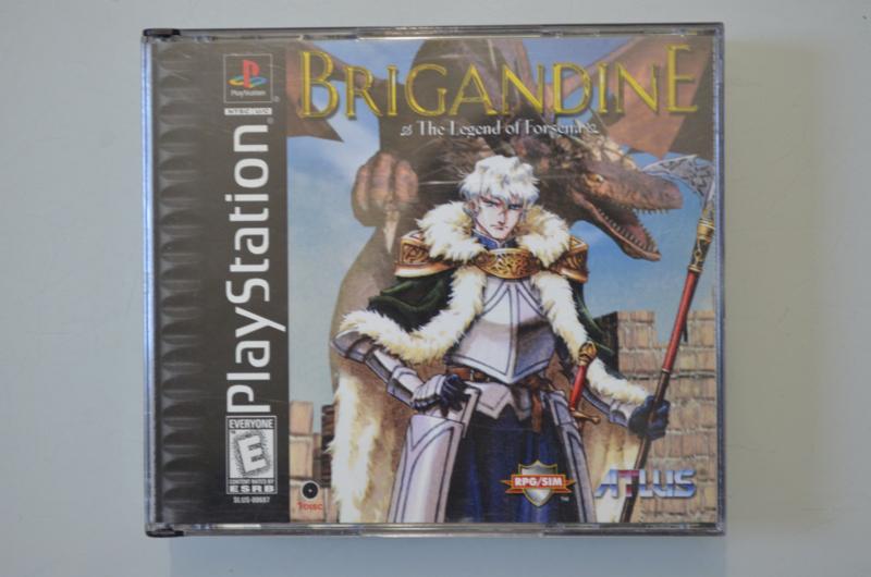 Ps1 Brigandine The Legend of Forsena [Amerikaanse Import]