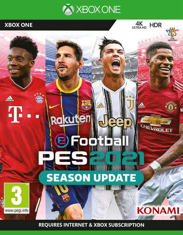 Xbox One eFootball Pro Evolution Soccer 2021 (PES 2021) [Nieuw]