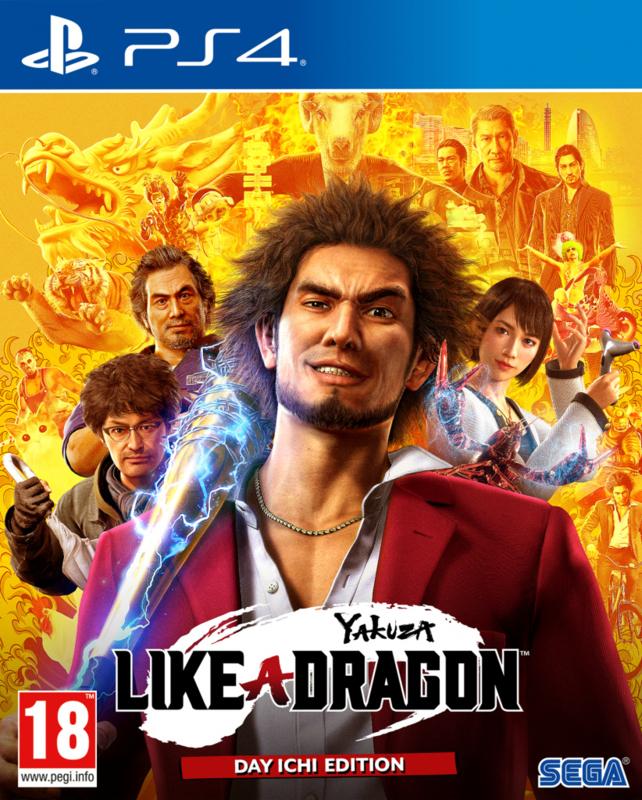 PS4 Yakuza Like a Dragon Day Ichi Edition (Yakuza 7) [Nieuw]