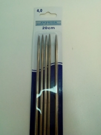 breinaalden 20 cm 4 mm