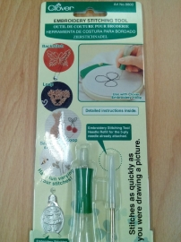 Clover Embroidery stitching tool.