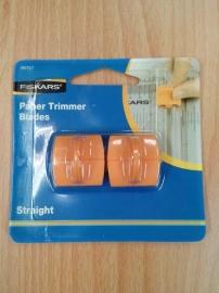 Paper trimmer blades.