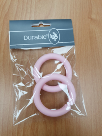 Durable ring open kleur rose