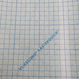 Rasterquick driehoek o,90 m. br. x 1m. lengte