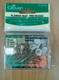 Flower head pins boxed 100 st