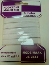 5 m. Elastiek striemt niet