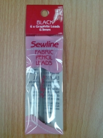 sewline fabric pencil leads black