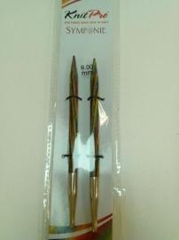 Knitpro breipunten 6 mm