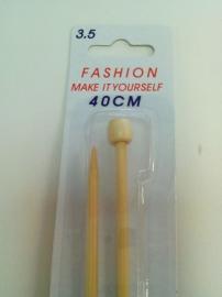 breinaalden 40 cm 3,5 mm