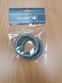 Durable Ring open kleur grijs