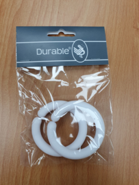 Durable ring open kleur wit