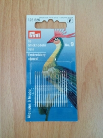 Prym embroidery naalden nr 9