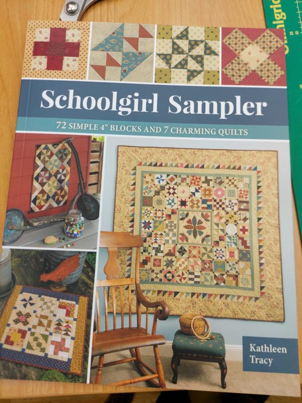 Schoolgirl sampler boek