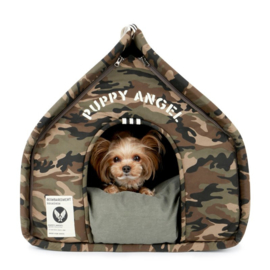 Puppy Angel Luxury Camo Basecamp