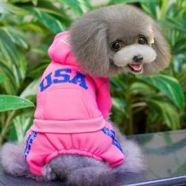 Hondenpak Sporty Roze M