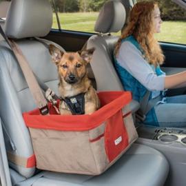 Auto Stoel Kurgo Heather Booster Seat beige 30 x 40 x 20 cm- Gratis Verzending