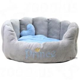 Hondenmand  Grijs / Lichtblauw  Prins