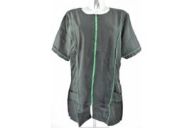 Trimshirt zwart met groen- model Dot -  - Getallieerd model