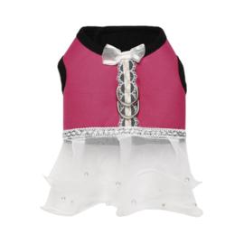 Hondentuigje jurk  Fifa Roze  - Large - Borstomvang 35-40 cm - In Voorraad