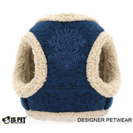 Tuigje Is Pet Lili Fleece Navy Blauw - Large 43-45 cm -  In Voorraad