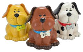 Keramische koekjespot Hond - Gratis Verzending