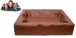 Hondenmand Bia Bed Bruin1   45X45X12 CM