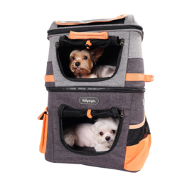 IBIYAYA  Rugzak Two tier backpack Orange - Gratis Verzending