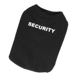 Hondenshirt Security Zwart - Maat XS - Ruglengte 19 cm - In Voorraad