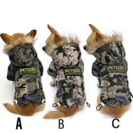 Hondenjas Camouflage