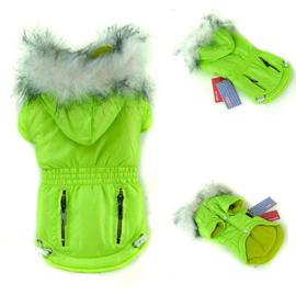 Hondenjas Groen Color - Large - Ruglengte 31-33 cm - In Voorraad