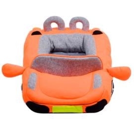 Hondenmand auto Orange - Laatste In Voorraad - Gratis Verzending