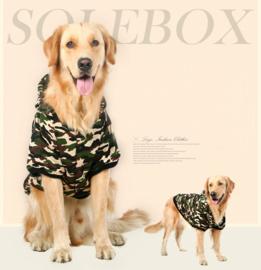Honden jas Grote hond  Camouflage 7XL - RUG LENGTE 60 CM - IN VOORRAAD