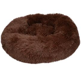Hondenmand  Donut Let's Sleep 50 of 60 cm Bruin