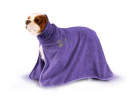 Handdoek Voor Honden En Katten - Dry Dude Purple Handdoek - 3 Maten
