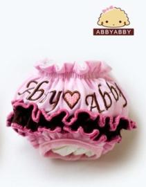 Loopsheidbroekje Abby Roze - Medium - Taille 22-30 cm - In Voorraad