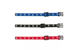 Puppy Halsband  30-45 CMmet Looplijn  in 3 Kleuren