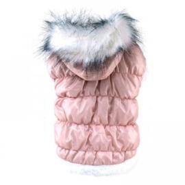 Hondenjas Roze - Large - Ruglengte 31 -33 cm - In Voorraad